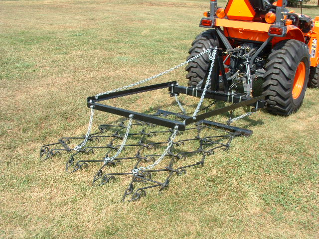Single Rigid Tine Chain Harrow